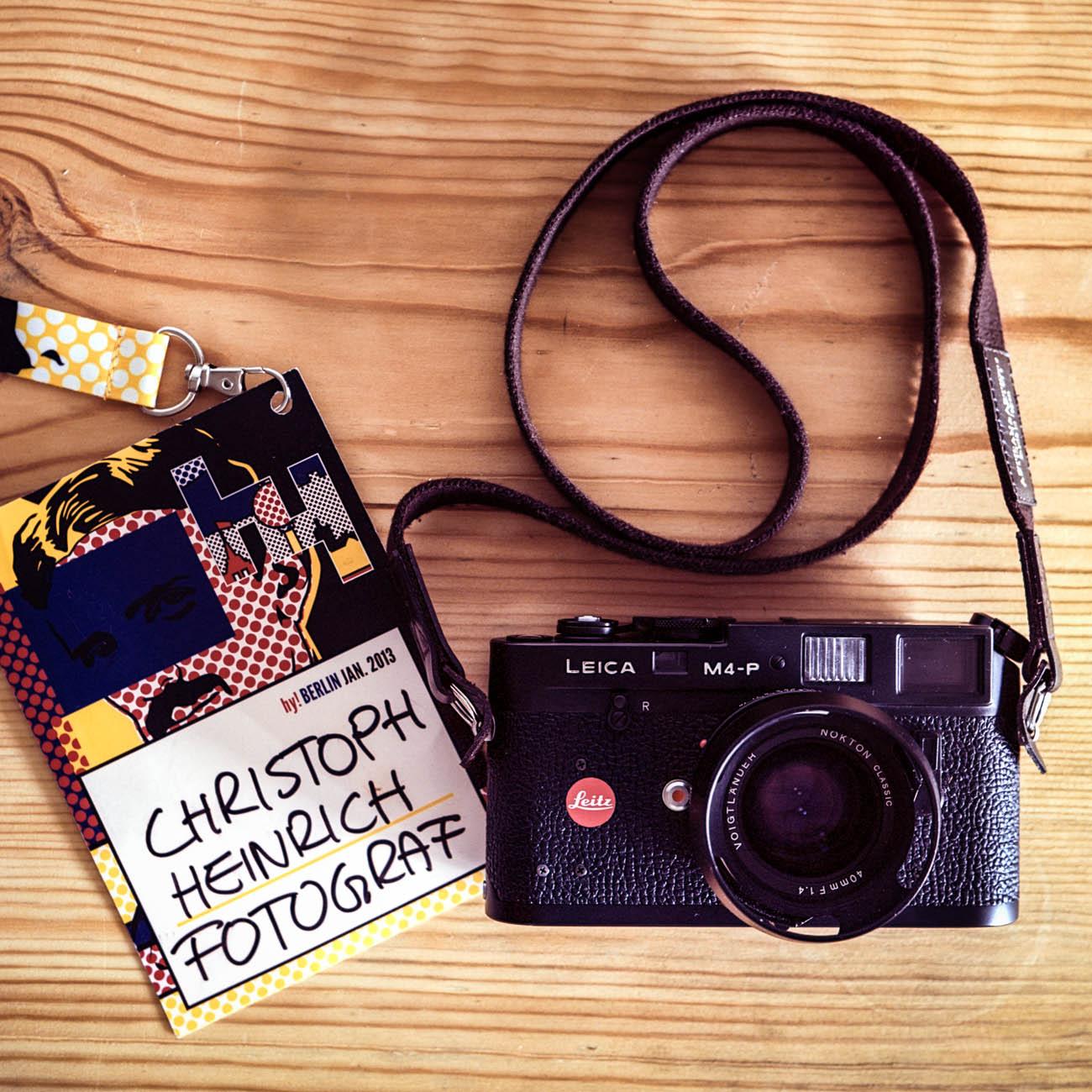 Christoph Heinrich » Fotografie » Reinigung einer Leica M